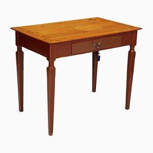 Rustikaler Schreibtisch aus Pinienholz, 18. Jh.