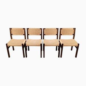 Mid-Century Esszimmerstühle von 't Spectrum, 4er Set