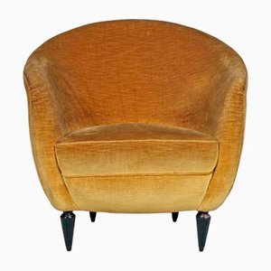 Velvet Lounge Chair by Gio Ponti, 1938