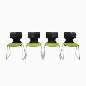 Deutsche Stühle von Flötotto, 1970er, 4er Set