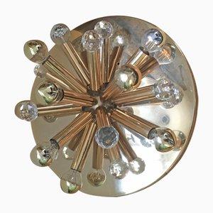 Lámpara de techo o pared Sputnik de Ernst Palme, años 60
