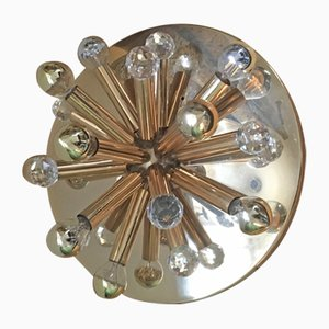 Sputnik Wall or Ceiling Lamp by Ernst Palme, 1960s