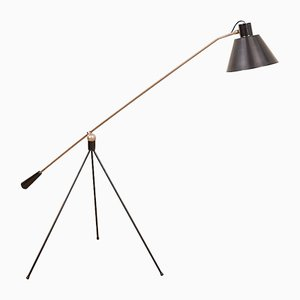 Mid-Century Magneto Floor Lamp by H. Fillekes for Artifort