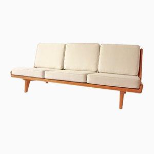 Trienna Sofa by Carl Gustav Hiort af Ornäs for Puunveisto OY, 1950s