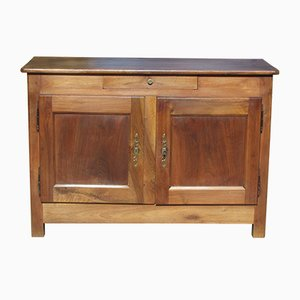 Antique 19th-Century Solid Walnut Buffet