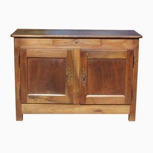 Buffet antico in legno di noce massiccio, XIX secolo