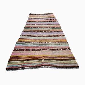 Flat Woven Turkish Rug, 1970s