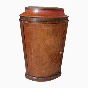 Flamed Mahogany Phonograph Cabinet, 1890s