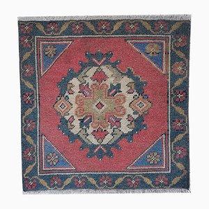 Turkish Square Floor Mat, 1970s