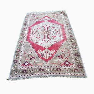 Small Oushak Rug, 1970s