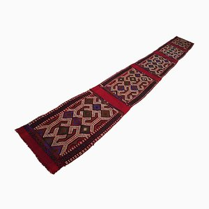 Vintage Colorful Turkish Runner, 1970s
