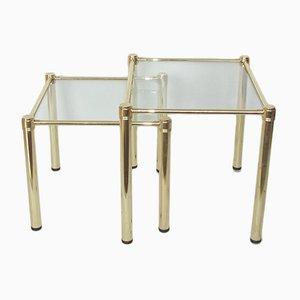 Tavolini ad incastro modernisti, anni '70
