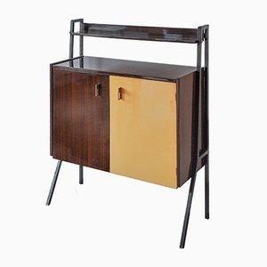 Mid-Century Italian Rosewood 2-Tone Cabinet, 1960s
