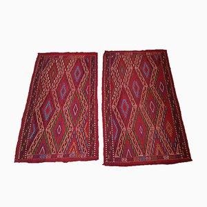 Türkische Vintage Kelim Teppiche, 1970er, 2er Set