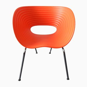 Red Tom Vac Chairs by Ron Arad for Vitra, 1999, Set of 6