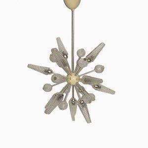 Lámpara de araña Sputnik Era Espacial, años 70