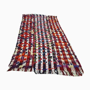 Vintage Anatolian Striped Kilim, 1970s
