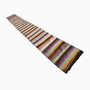Vintage Turkish Wool Stair Runner, 1970s