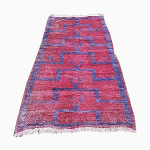 Türkischer Vintage Flokati Teppich, 1970er