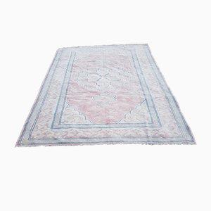 Turkish Oushak Wool Carpet, 1970s