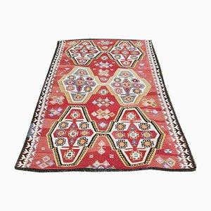 Handgewebter klassischer türkischer Kilim Teppich
