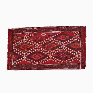 Small Vintage Turkish Kilim Rug, 1970s