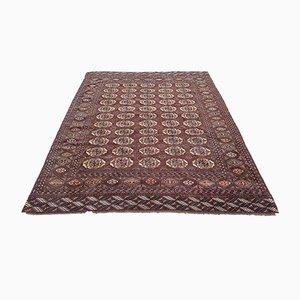 Großer turkmenischer Vintage Teppich, 1970er