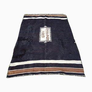 Türkischer Vintage Teppich aus Ziegenhaar, 1970er