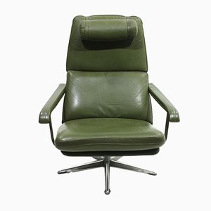 Vintage Leather Armchair, 1970s