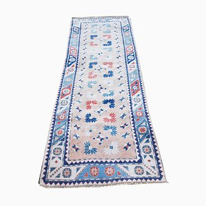Vintage Turkish Hallway Runner, 1970s