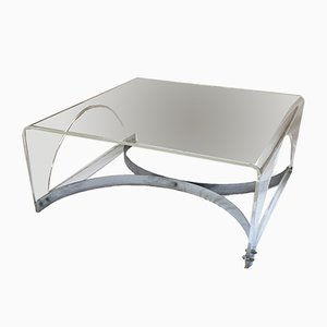 Vintage Plexiglas Coffee Table