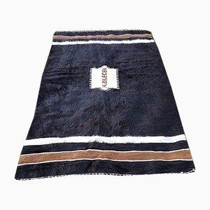 Vintage Siirt Blanket Rug, 1970s