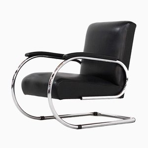 Vintage Vilvoure Lounge Chair from Tubax, 1950s