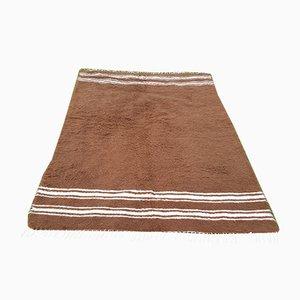 Turkish Anatolian Angora Wool Rug, 1970s