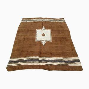 Dekorativer türkischer Teppich aus Ziegenhaar, 1970er