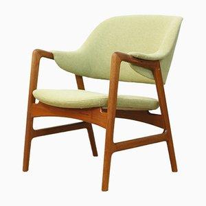 Moderner dänischer Armlehnstuhl aus Teak von Ingmar Relling für Westnofa, 1960er