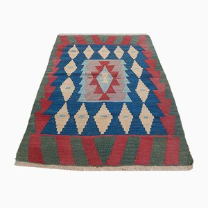 Turkish Kilim Bathroom Mat or Wall Hanging, 1970s