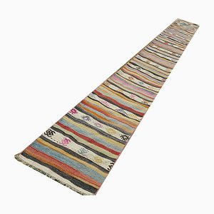 Vintage Turkish Handwoven Runner