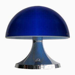 Vintage Spanish Plastic Mushroom Table Lamp, 1970s