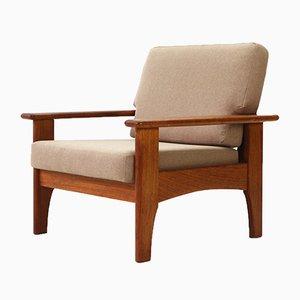 Sessel mit Gestell aus Teak, 1960er