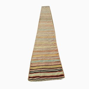 Striped Kilim Hallway Runner, 1970s
