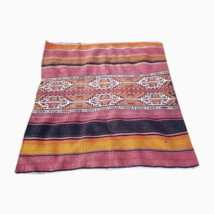 Bohemian Colored Kilim Rug, 1970s