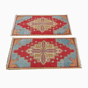Turkish Oushak Runner, Set of 2