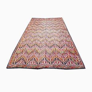 Mehrfarbiger türkischer Vintage Teppich