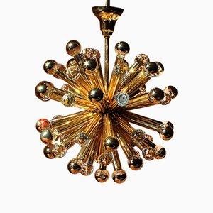 Sputnik Kronleuchter mit Swarovski-Kristallen von Ernst Palme, 1960er