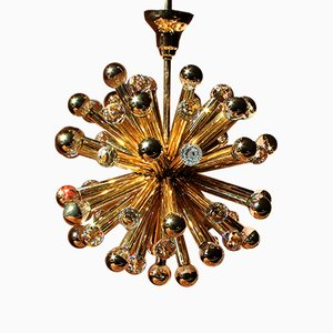Swarovski Sputnik Chandelier from Ernst Palme, 1960s