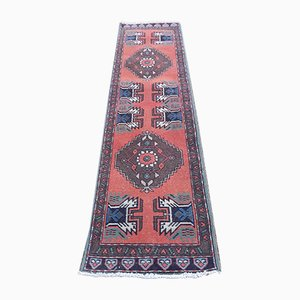 Vintage Turkish Flatweave Runner, 1970s