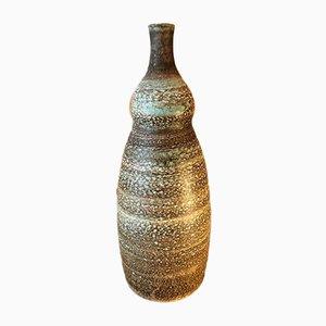 Jarrón de cerámica de Les 2 Potiers, años 60