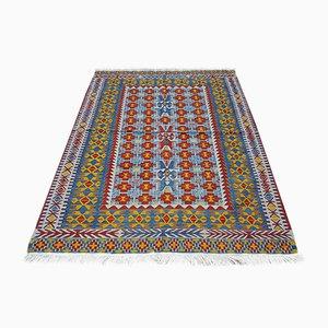 Kilim turco de colores, años 70