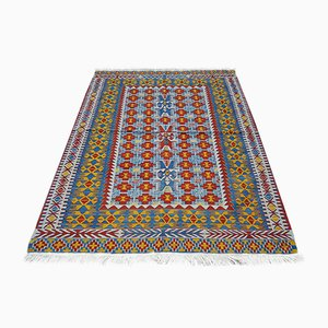 Turkish Colorful Kilim, 1970s